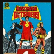 Cómics: BATMAN Y LOS OUTSIDERS - EDICIONES ZINCO / NÚMERO 11. Lote 190722157