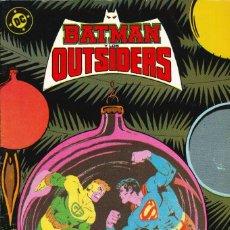 Cómics: BATMAN Y LOS OUTSIDERS - EDICIONES ZINCO / NÚMERO 14. Lote 190751268