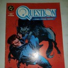 Cómics: QUESTION Nº 7 ESTADO NORMAL MAS ARTICULOS PRECIO NEGOCIABLE . Lote 190842170