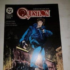 Cómics: QUESTION Nº 15 ESTADO NORMAL MAS ARTICULOS PRECIO NEGOCIABLE . Lote 190842276