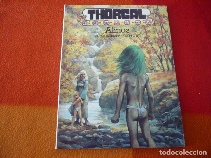 THORGAL 8 ALINOE ( ROSINSKI VAN HAMME ) ¡BUEN ESTADO! ZINCO (Tebeos y Comics - Zinco - Otros)