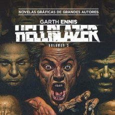 Cómics: HELLBLAZER DE GARTH ENNIS 3 - ECC / DC COLECCION VERTIGO 36 / TAPA DURA. Lote 190899952