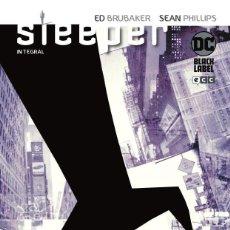 Cómics: SLEEPER DE ED BRUBAKER Y SEAN PHILIPS - ECC / DC BLACK LABEL / EDICION INTEGRAL / TAPA DURA. Lote 190900870