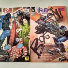 Cómics: DOOM PATROL. EL CULTO DEL LIBRO NO ESCRITO 1 Y 2. MORRISON, CASE. Lote 191242221