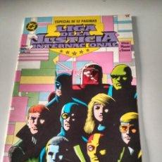 Cómics: LIGA DE LA JUSTICIA INTERNACIONAL N. 7. GIFFEN, DE MATTEIS. Lote 191247452