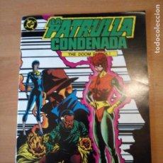 Comics: LA PATRULLA CONDENADA 4. Lote 191254120