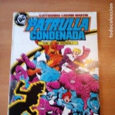 Comics: LA PATRULLA CONDENADA 9. Lote 191255376