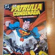 Comics: LA PATRULLA CONDENADA 10. Lote 191255427