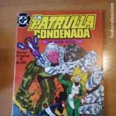 Cómics: LA PATRULLA CONDENADA 15. Lote 191256322