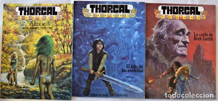 THORGAL - ALINOE, LA CAIDA DE BREK ZARITH Y EL HIJO DE LAS ESTRELLAS - ROSINSKI-VAN HAMME - ED ZINCO (Tebeos y Comics - Zinco - Otros)