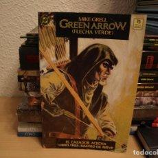 Cómics: GREEN ARROW - EL CAZADOR ACECHA - LIBRO TRES : RASTRO DE NIEVE - FOMATO CARTONE - ZINCO. Lote 191327695