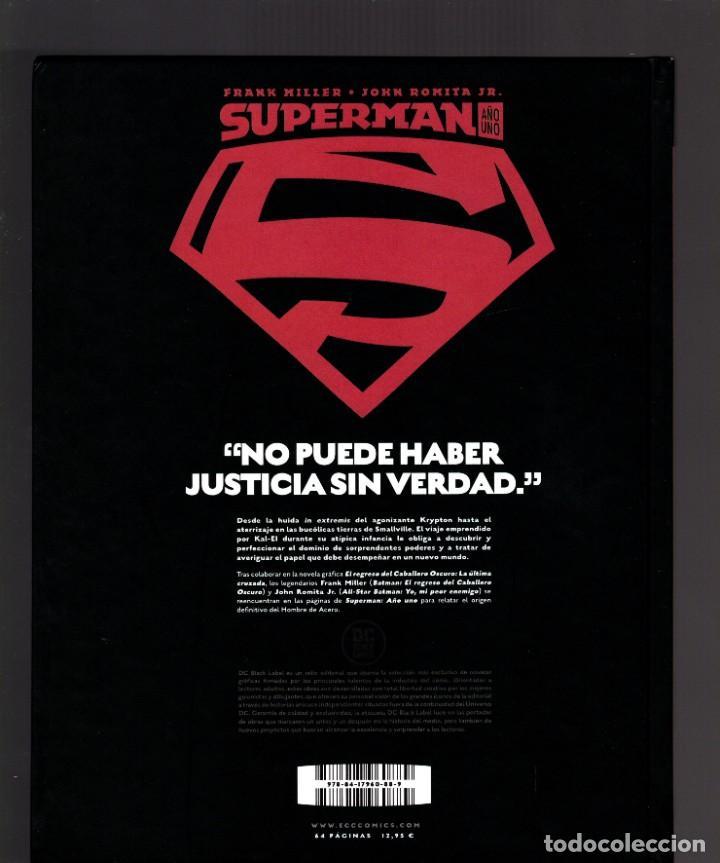 Cómics: SUPERMAN AÑO UNO 1 2 3 COMPLETA - ECC / DC BLACK LABEL / TAPA DURA / FRANK MILLER & JOHN ROMITA JR - Foto 3 - 191342265