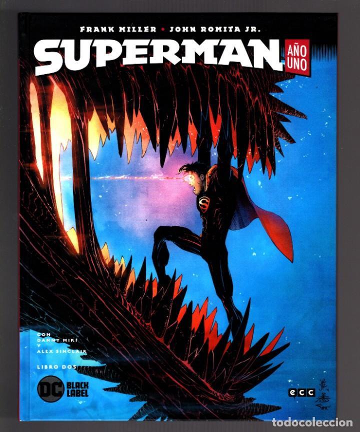 Cómics: SUPERMAN AÑO UNO 1 2 3 COMPLETA - ECC / DC BLACK LABEL / TAPA DURA / FRANK MILLER & JOHN ROMITA JR - Foto 4 - 191342265