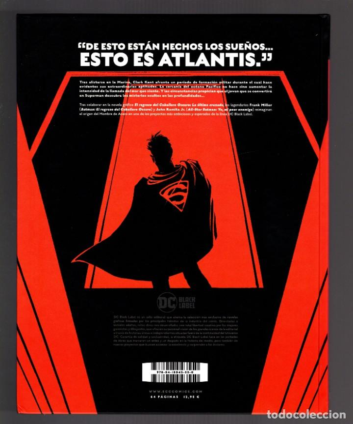 Cómics: SUPERMAN AÑO UNO 1 2 3 COMPLETA - ECC / DC BLACK LABEL / TAPA DURA / FRANK MILLER & JOHN ROMITA JR - Foto 5 - 191342265