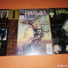 Cómics: LOTE DC. EDICIONES ZINCO. HELLBLAZER Y THE SANDMAN. . Lote 191499322