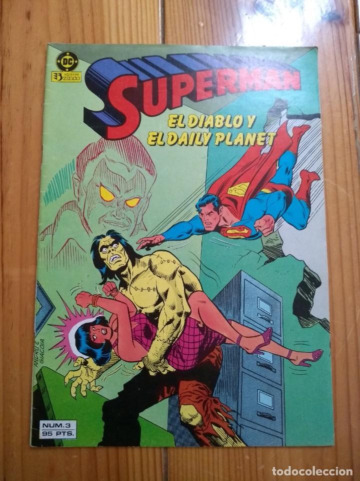 SUPERMAN Nº 3 - VOLÚMEN 1 (Tebeos y Comics - Zinco - Superman)