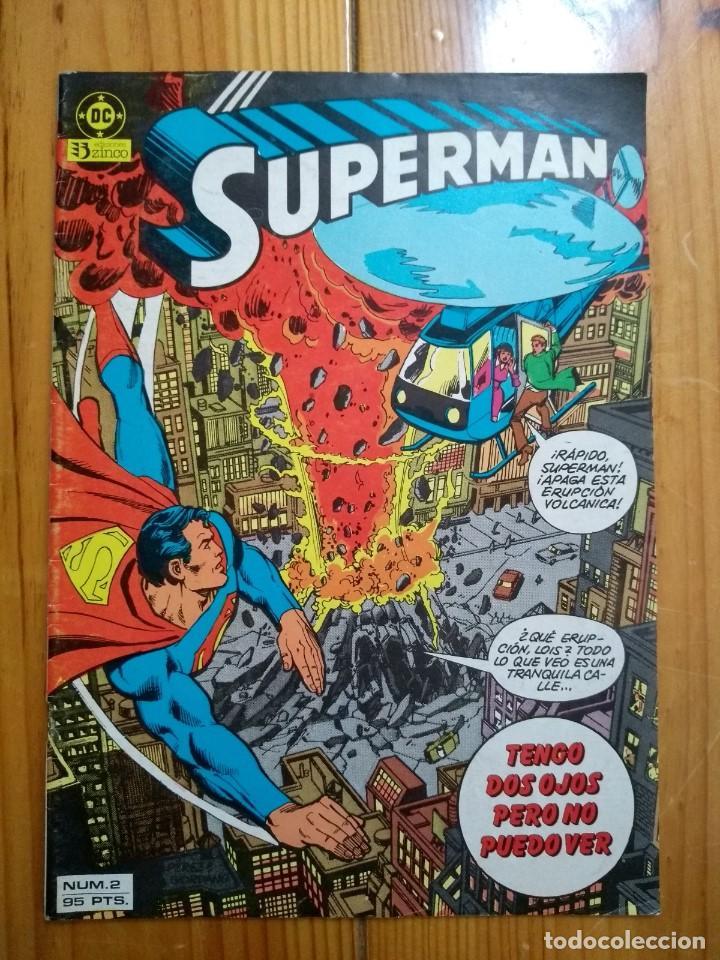 SUPERMAN Nº 2 - VOLÚMEN 1 - MUY BUEN ESTADO (Tebeos y Comics - Zinco - Superman)