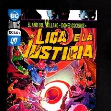 Cómics: LIGA DE LA JUSTICIA 18 - ECC / DC GRAPA / EL AÑO DEL VILLANO. Lote 191074000