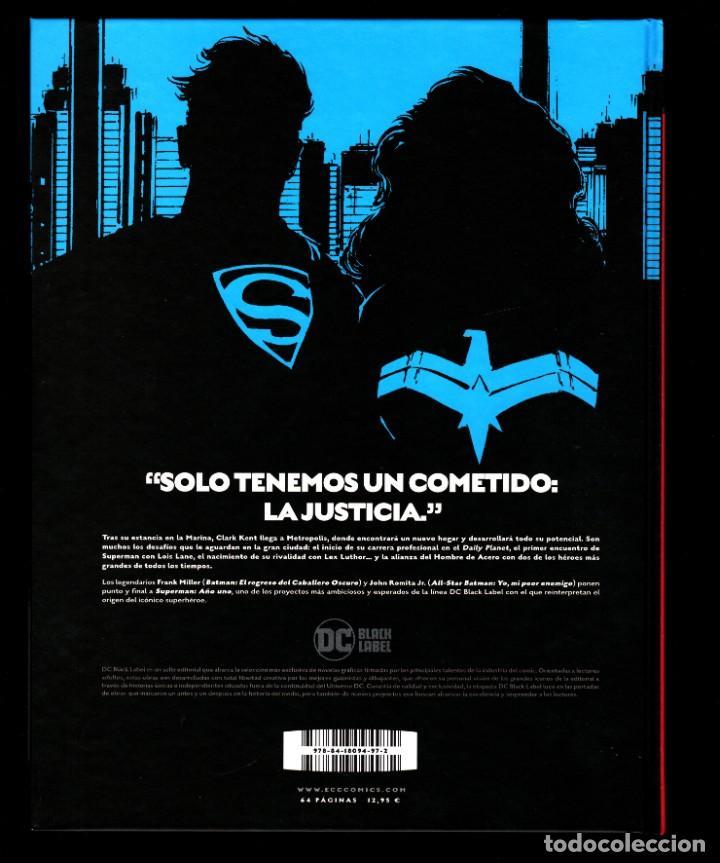 Cómics: SUPERMAN AÑO UNO 1 2 3 COMPLETA - ECC / DC BLACK LABEL / TAPA DURA / FRANK MILLER & JOHN ROMITA JR - Foto 7 - 191342265