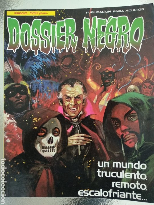 DOSSIER NEGRO EXTRA 2. INCLUYE NÚMEROS 159 AL 163 (Tebeos y Comics - Zinco - Retapados)