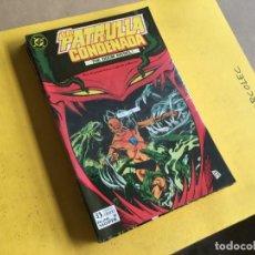Cómics: LA PATRULLA CONDENADA. LOTE DE 8 NUMEROS (VER DESCRIPCION) EDITORIAL ZINCO AÑO 1988. Lote 191790120
