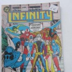 Cómics: INFINITY INC. Nº 11. ZINCO, AÑO 1986 CX40. Lote 192160832