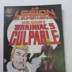 Cómics: LEGIÓN DE SUPERHÉROES Nº 17 ZINCO 1986 CX40. Lote 192160900