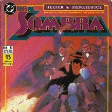 Cómics: LA SOMBRA. LUCES Y SOMBRAS - ZINCO / NÚMERO 5. Lote 192275895