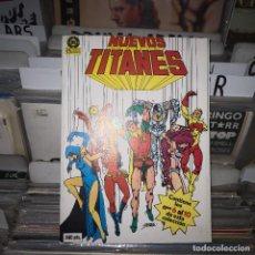 Comics: NUEVOS TITANES- RETAPADO 2 (Nº 6 AL 10) (ZINCO, )BUEN ESTADO. Lote 192332998