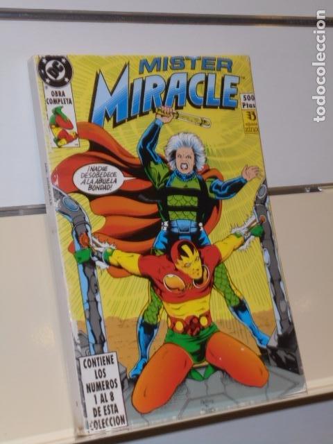 RETAPADO MISTER MIRACLE CONTIENE LOS Nº 1-2-3-4-5-6-7 Y 8 DE LA COLECCION - ZINCO (Tebeos y Comics - Zinco - Otros)