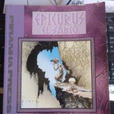Cómics: EPICURUS EL SABIO VOLUMEN 2 (WILLIAM MESSNER-LOEBS & SAM KIETH) ZINCO. Lote 192973035