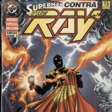 Cómics: SUPERMAN CONTRA THE RAY. Lote 193032078