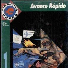 Cómics: AVANCE RÁPIDO, MINISERIE COMPLETA DE DOS NÚMEROS. Lote 193032233