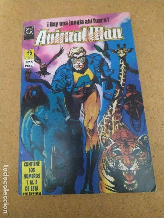 Cómics: ANIMAL MAN 1 AL 26 EN CINCO RETAPADOS. MUY BUEN ESTADO - Foto 2 - 193036072