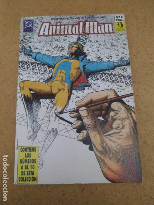 Cómics: ANIMAL MAN 1 AL 26 EN CINCO RETAPADOS. MUY BUEN ESTADO - Foto 3 - 193036072