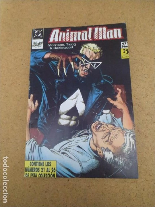 Cómics: ANIMAL MAN 1 AL 26 EN CINCO RETAPADOS. MUY BUEN ESTADO - Foto 6 - 193036072