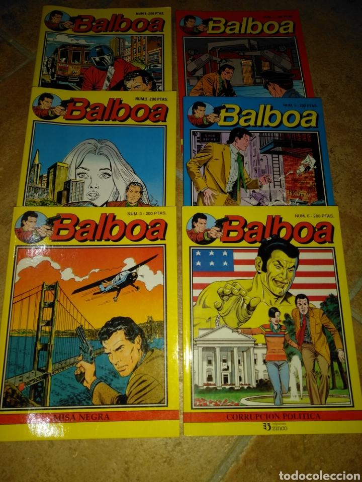 BALBOA (Tebeos y Comics - Zinco - Otros)