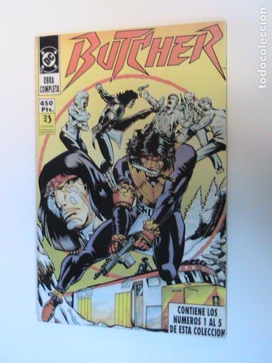BUTCHER. RETAPADO NÚMEROS 1 AL 5. ZINCO, 1991. (Tebeos y Comics - Zinco - Retapados)