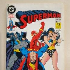 Cómics: SUPERMAN 119 - GRAPA DC - ESPECIAL 48 PÁGINAS - ZINCO. Lote 193330855