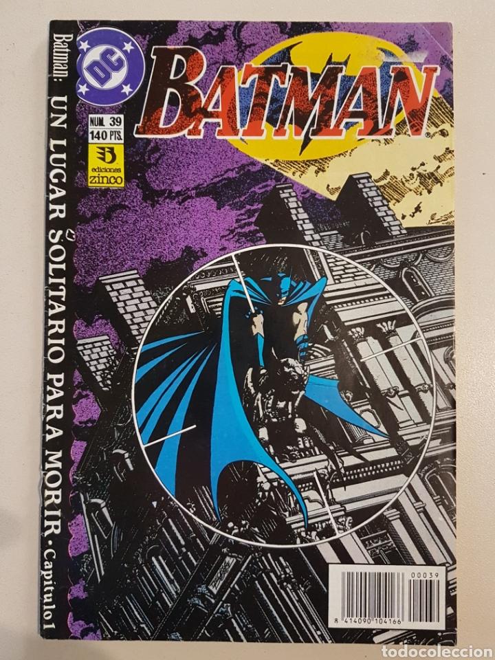 BATMAN - 39 - GRAPA DC - UN LUGAR SOLITARIO PARA MORIR - ZINCO (Tebeos y Comics - Zinco - Batman)