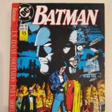 Cómics: BATMAN - 40 - GRAPA DC - UN LUGAR SOLITARIO PARA MORIR - ZINCO. Lote 193331405