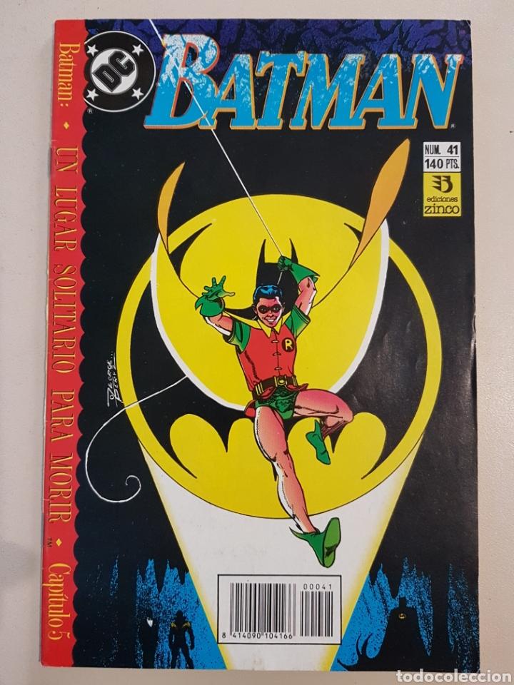 BATMAN - 41 - GRAPA DC - UN LUGAR SOLITARIO PARA MORIR - ZINCO (Tebeos y Comics - Zinco - Batman)