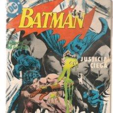 Cómics: BATMAN. Nº 2. JUSTICIA CIEGA. DC / ZINCO. (ST/A10). Lote 193408640