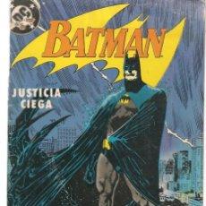 Cómics: BATMAN. Nº 3. JUSTICIA CIEGA. DC / ZINCO. (ST/A10). Lote 193408785