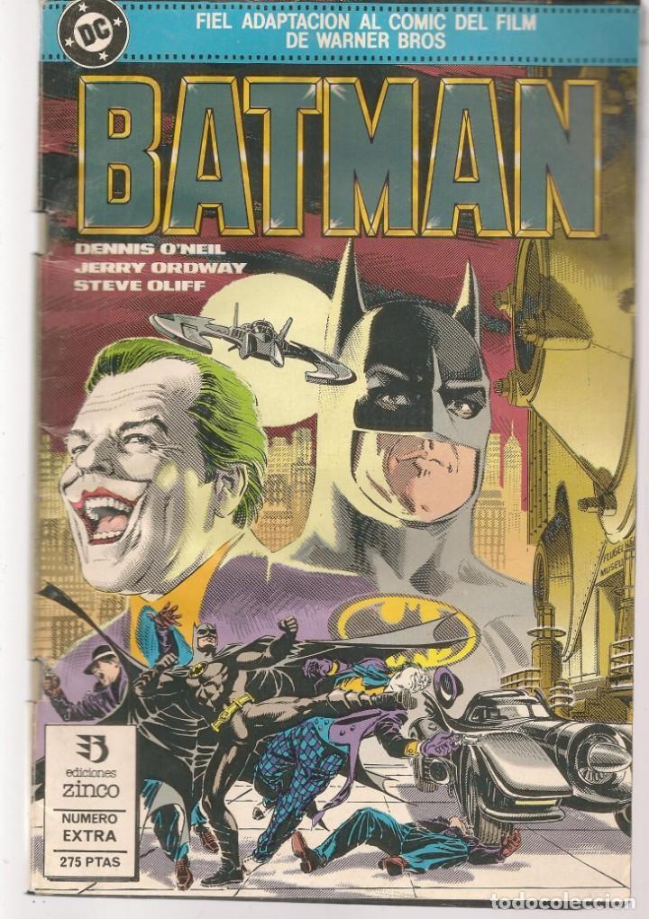 BATMAN. FIEL ADAPTACIÓN AL COMIC DEL FILM. DC / ZINCO. (ST/A10) (Tebeos y Comics - Zinco - Batman)