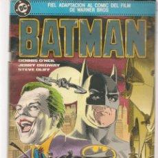 Cómics: BATMAN. FIEL ADAPTACIÓN AL COMIC DEL FILM. DC / ZINCO. (ST/A10). Lote 193408893