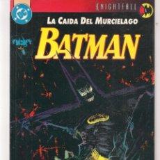 Cómics: BATMAN. LA CAÍDA DEL MURCIÉLAGO. Nº 1. DC / ZINCO. (ST/A10). Lote 193410198