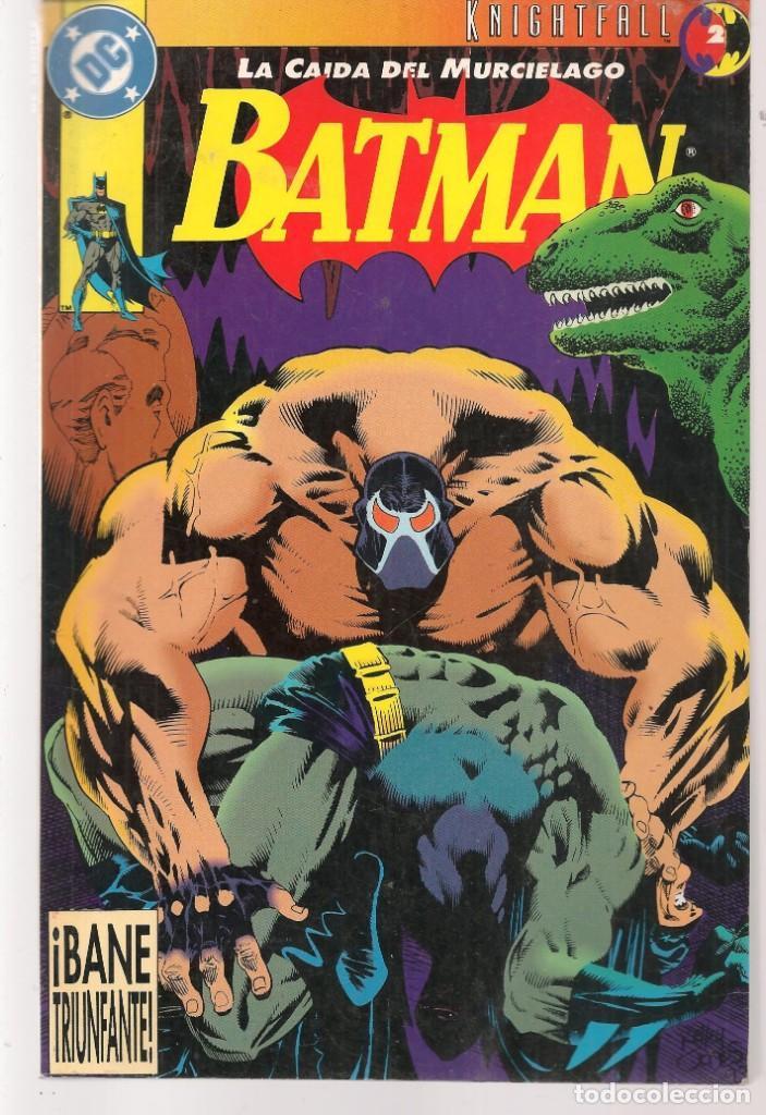 BATMAN. LA CAÍDA DEL MURCIÉLAGO. Nº 2. DC / ZINCO. (ST/A10) (Tebeos y Comics - Zinco - Batman)