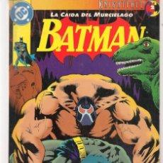 Cómics: BATMAN. LA CAÍDA DEL MURCIÉLAGO. Nº 2. DC / ZINCO. (ST/A10). Lote 193410320