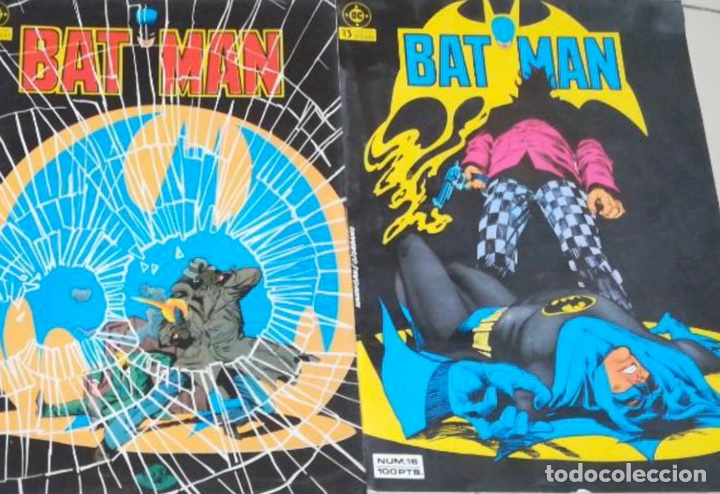 BATMAN ZINCO NÚMEROS 16 Y 17 VOL 1 - 1984 (Tebeos y Comics - Zinco - Batman)
